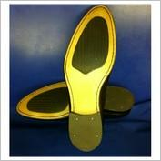 GENTS REPLACEMENT LEATHER FULL SOLE WITH RUBBER HEEL